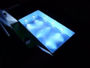 auch die Poolbeleuchtung wurde installiert