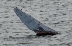 komplett abgedichtet segelt es sich deutlich sicherer